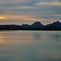 Buy canvas prints of Desert Sunrise by Debra Farrey