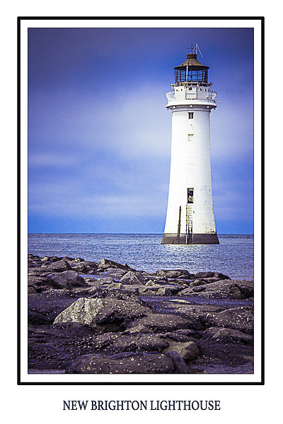 New Brighton Lighthouse Print by Dave Cullen