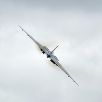 Buy canvas prints of  Avro Vulcan by Andrew Richards