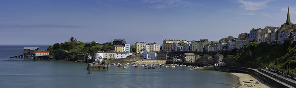 Tenby  Canvas print by Andrew Richards
