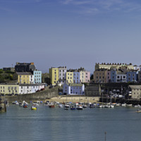 Buy canvas prints of Tenby  by Andrew Richards