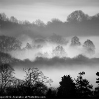 Buy canvas prints of MISTY LAYERS by Don Hooper