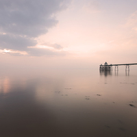 Buy canvas prints of Clevedon Pier by Don Hooper