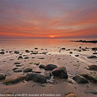 Buy canvas prints of Harlech seascape by carl barbour canvas prints