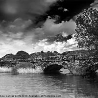 Buy canvas prints of Padarn Bridge by carl barbour canvas prints