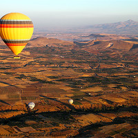 Buy canvas prints of Hot Air Ballooning Goreme Turkey by Carole-Anne Fooks