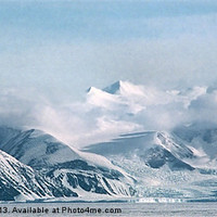 Buy canvas prints of Transantarctic Range, Antarctica by Carole-Anne Fooks