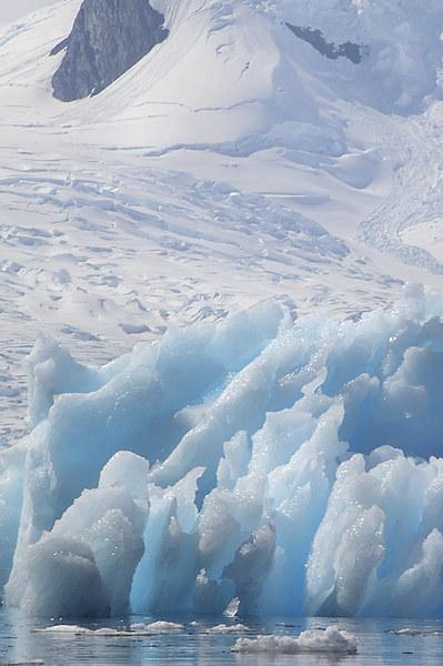 Iceberg Cierva Cove Antarctica Canvas print by Carole-Anne Fooks