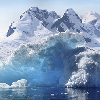 Buy canvas prints of Iceberg in Cierva Cove, Antarctica by Carole-Anne Fooks