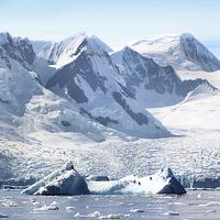 Buy canvas prints of Cierva Cove Glaciers & Iceberg by Carole-Anne Fooks