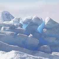 Buy canvas prints of Iceberg Detail Cierva Cove, Antarctica by Carole-Anne Fooks
