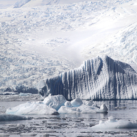 Buy canvas prints of Cierva Cove Iceberg & Glaciers by Carole-Anne Fooks