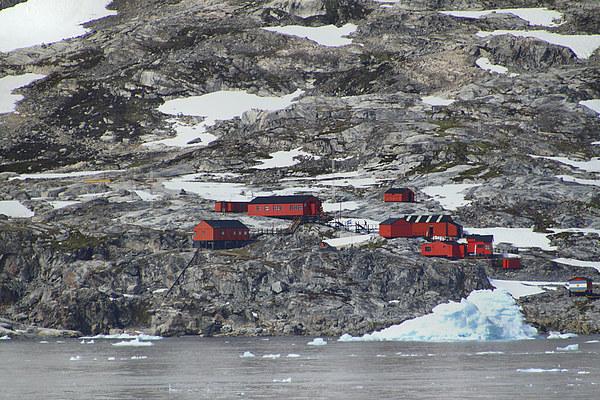 Argentinian Base Cierva Cove Antarctica Canvas print by Carole-Anne Fooks