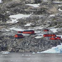Buy canvas prints of Argentinian Base Cierva Cove Antarctica by Carole-Anne Fooks