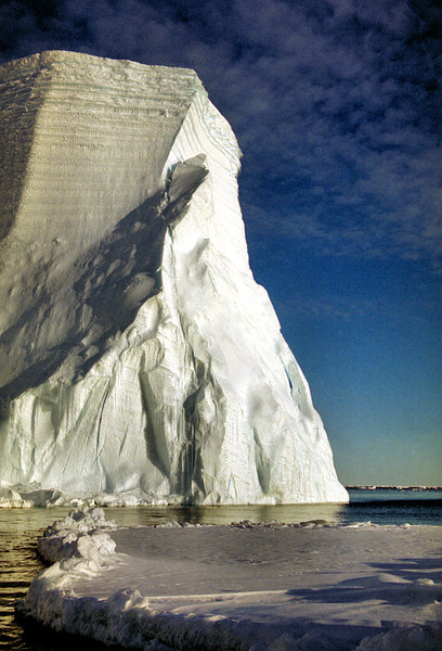 Magnificant Iceberg, Cape Roget, Antarctica Canvas print by Carole-Anne Fooks