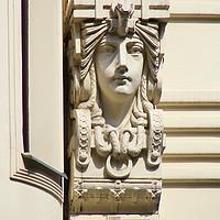 Buy canvas prints of Art Nouveau Architecture   by Carole-Anne Fooks