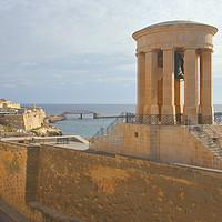 Buy canvas prints of  Siege Bell War Memorial, Valletta, Malta by Carole-Anne Fooks