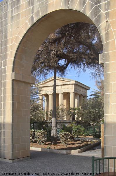 Lower Barrakka Gardens, Valletta, Malta Print by Carole-Anne Fooks