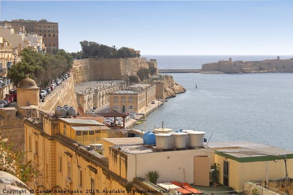 The Grand Harbour, Valletta, Malta  Acrylic by Carole-Anne Fooks