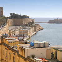 Buy canvas prints of The Grand Harbour, Valletta, Malta  by Carole-Anne Fooks