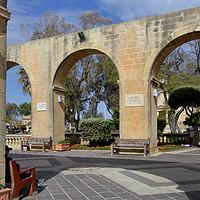 Buy canvas prints of Upper Barrakka Gardens, Valletta, Malta.  by Carole-Anne Fooks