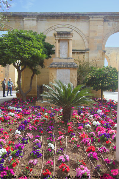 Upper Barrakka Gardens, Valletta, Malta. Canvas Print by Carole-Anne Fooks