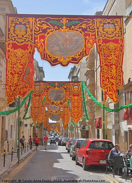 Floriana, Valletta, Malta  Canvas print by Carole-Anne Fooks