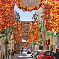 Buy canvas prints of Floriana, Valletta, Malta by Carole-Anne Fooks