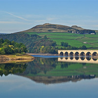 Buy canvas prints of Ladybower Reservoir by Pam Sargeant