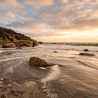 Buy canvas prints of Porth Nanven Beach by Pam Sargeant