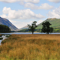 Buy canvas prints of Buttermere by Michelle PREVOT