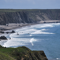 Buy canvas prints of Pembrokeshire Coast by Michelle PREVOT