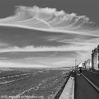 Buy canvas prints of Parkgate promenade by Rob Lester