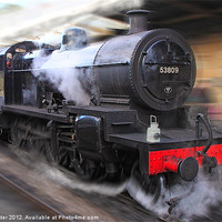 Buy canvas prints of locomotive 53809 by Rob Lester