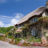 Buy canvas prints of A Cornish Dream. by Rob Lester