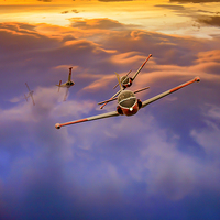 Buy canvas prints of  Jet Provosts by Rob Lester