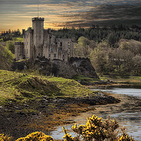 Buy canvas prints of Dunvegan castle_uiginish_Isle ofSkye by Rob Lester
