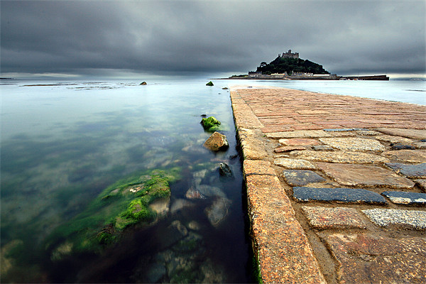 St Michaels Mount Canvas print by James Gilpin