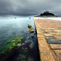 Buy canvas prints of St Michaels Mount by James Gilpin