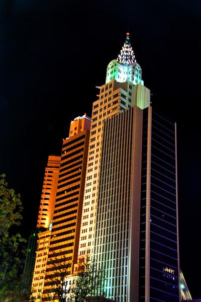 New York New York Hotel Las Vegas America Framed Mounted Print by Andy Evans Photos