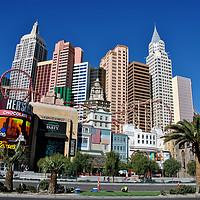 Buy canvas prints of New York New York Las Vegas America by Andy Evans Photos