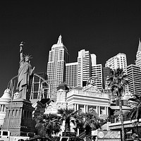 Buy canvas prints of New York New York Las Vegas America by Andy Evans Photos