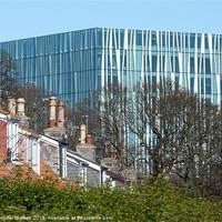 Buy canvas prints of Aberdeen University Library by Jennifer Watson