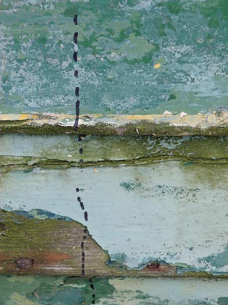 The Dotted Line Canvas print by Jennifer Watson