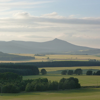 Buy canvas prints of Bennachie Landscape by Jennifer Watson