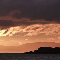 Buy canvas prints of Skye Sunset II by Jennifer Watson