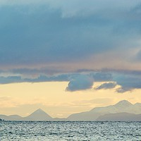 Buy canvas prints of Towards the Cuillins by Jennifer Watson