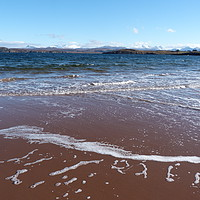 Buy canvas prints of From Firemore beach by Jennifer Watson