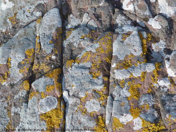 Rock of Ages 2 Canvas print by Jennifer Watson