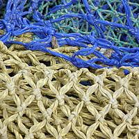 Buy canvas prints of Fishing Nets 2 by Jennifer Watson